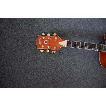 Custom Shop Gretsch Orange Falcon Nashville Jazz Electric Guitar