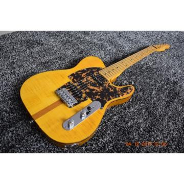Custom Shop Hofner Telecaster Flame Maple Top H.S. Anderson Mad Cat Guitar
