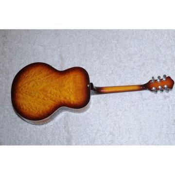 Custom Shop Hofner Sunburst Resonator Guitar