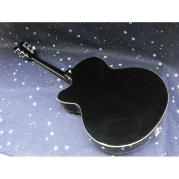 Custom Nashville Gretsch Falcon Black Guitar