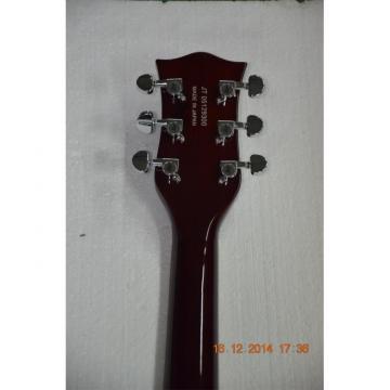 Custom Shop Gretsch Falcon 6120 Left Handed Burgundy Jazz Guitar
