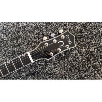 Custom Gretsch G6199 Billy-Bo Jupiter Thunderbird Metallic Silver Checkerboard Binding Guitar