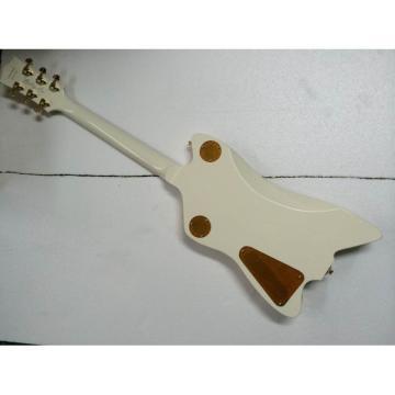 Custom Gretsch G6199 Billy-Bo Jupiter Thunderbird Aged Cream White Authorized Bridge Guitar