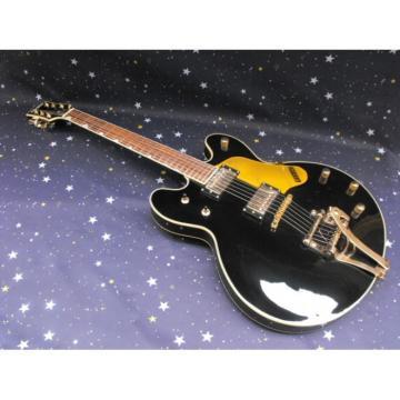 Custom Gretsch G6136TBK Black Falcon w/ Bigsby Guitar