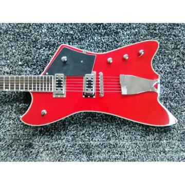 Custom Gretsch G6199 Billy-Bo Jupiter Thunderbird Classic Red Authorized Bridge Guitar