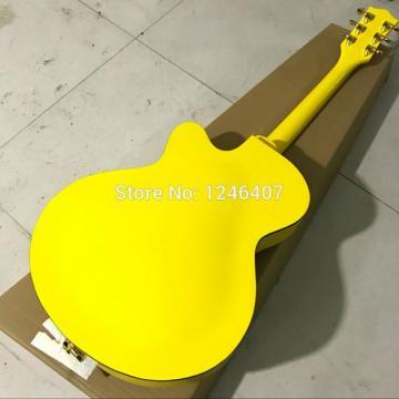 Custom G6120 Gretsch Yellow Monaco Electric Guitar