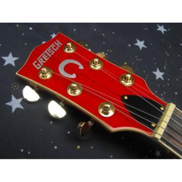 Custom G6120 Gretsch Yellow Brown Guitar