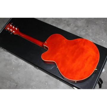 Custom G6120 Gretsch Falcon Setzer Brick Red Guitar