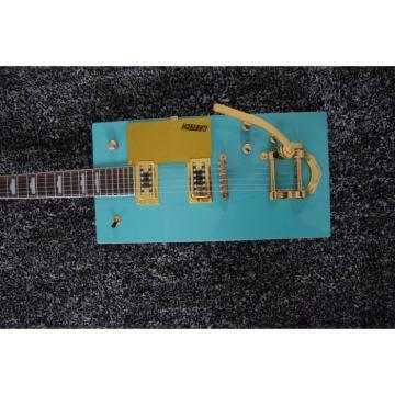 Custom Built Blue Gretsch G5810 Bo Diddley Electric Guitar Cigarette Box