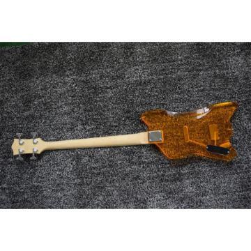 Custom Gretsch  G6199 Billy-Bo Jupiter Thunderbird Yellow 4 String Acrylic Bass