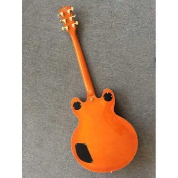 Custom Build Gretsch G6136TBK Orange Falcon Bigsby Guitar