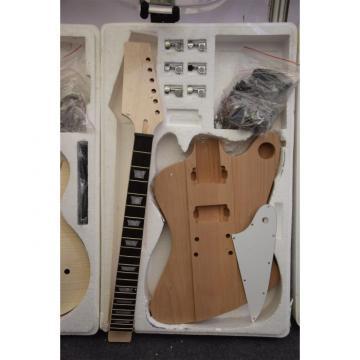 Custom Shop Unfinished guitarra Standard Flame Tiger Maple Top Guitar Kit