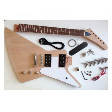 Custom Shop Unfinished guitarra Explorer Guitar Kit