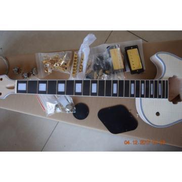 Custom Shop Flame Maple Top Unfinished guitarra Guitar Kit