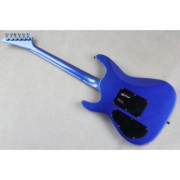 Custom Shop Jackson Soloist Metallic Blue Guitar