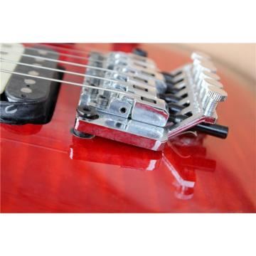 Custom Shop EVH Peavey Electric Guitar Red Burst
