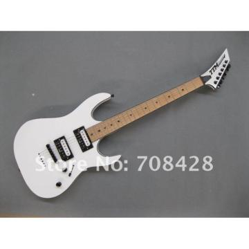 USA Custom Built Deville White TTM Super Shop Guitar