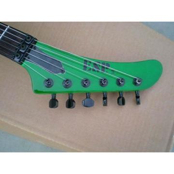 Custom Shop Korina ESP James Hetfield Green Explorer Guitar