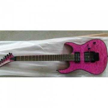 Deville USA Custom Built Pink TTM Super Shop Guitar