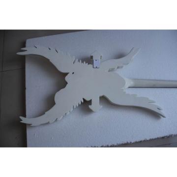 Custom Shop ESP White  Angle Cross Electric Guitar