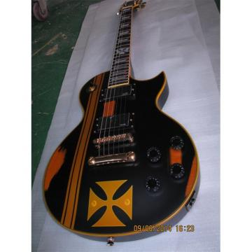 Custom Shop ESP Metallica James Hetfield Iron Cross Guitar