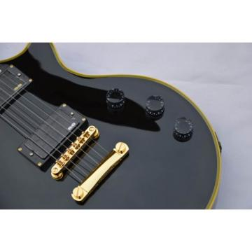 Custom Shop ESP Eclipse Black Electric guitar