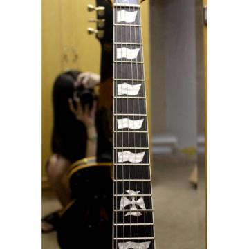 Custom Made ESP Metallica James Hetfield Iron Cross Electric Guitar