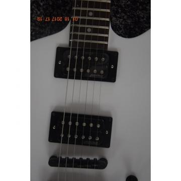Custom ESP James Hetfield Snakebyte White Electric Guitar