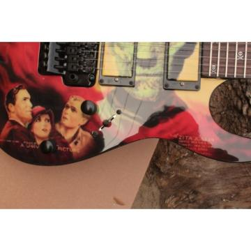 Custom Movie ESP Karloff Mummy Electric Guitar