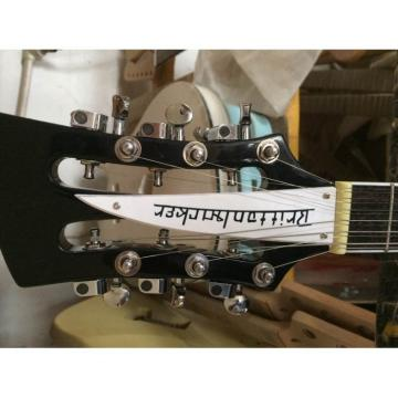 Custom 4003 Double Neck Mike Rutherford of Genesis 4 String Bass 6/12 String Option Guitar