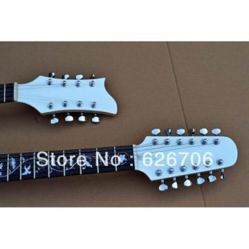 Custom Double Neck JEM7V 12 Strings and 8 Strings Guitar