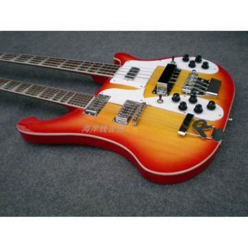 Custom 4003 Double Neck Fireglo 4 String Bass 12 String Guitar
