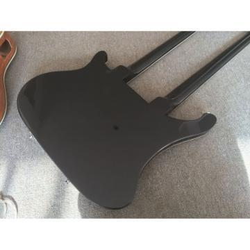 Custom Built 4080 Double Neck Geddy Lee 4 String Bass 6/12 String Option Guitar