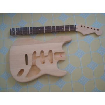 Custom Fender Stratocaster Unfinished Guitar Kit