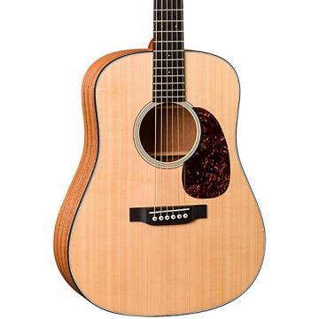 Martin DJRE Dreadnought Junior Acoustic-Electric Guitar Natural