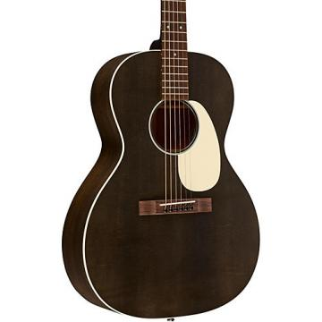 Martin 17 Series 00L-17E Grand Concert Acoustic-Electric Guitar Black Smoke
