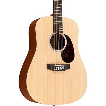 Martin X Series Custom X1D12E-CST Dreadnought 12-String Acoustic-Electric Guitar Natural
