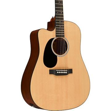 Martin Road Series Custom DCRSGT Dreadnought Left-Handed Acoustic-Electric Guitar Natural