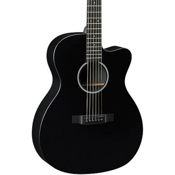 Martin X Series OMCXAE Orchestra Model Acoustic-Electric Guitar Black