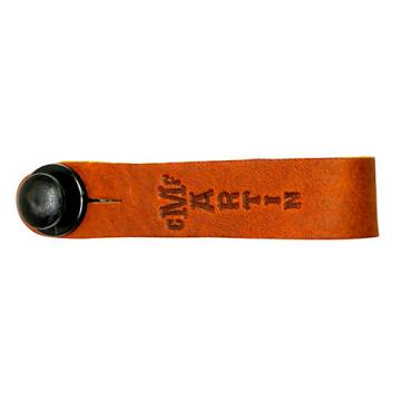 Martin Headstock Tie Guitar Strap Button Brown