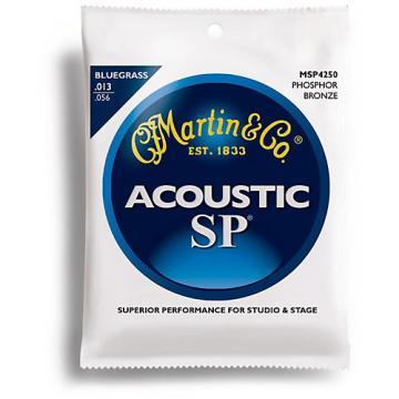 Martin MSP4250 SP Bluegrass Medium Acoustic Guitar Strings