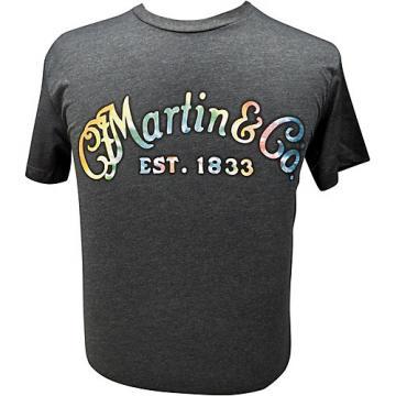 Martin Gray Tie-Dye Logo T-Shirt XX Large