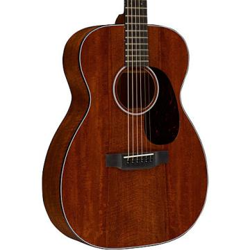 Martin Custom 00-18 Flamed Mahogany Acoustic Guitar Natural
