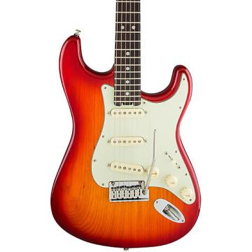 Fender American Elite Rosewood Stratocaster Electric Guitar Aged Cherry Burst