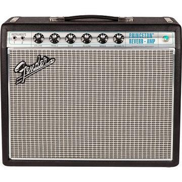 Fender '68 Custom Princeton Reverb 12W 1x10 Tube Guitar Combo Amp with Celestion Ten 30 Speaker Black