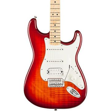 Fender Standard Stratocaster HSS Plus Top, Maple Fingerboard Aged Cherry Sunburst Maple Fingerboard
