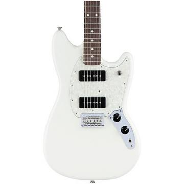 Fender Mustang 90 Rosewood Fingerboard Olympic White