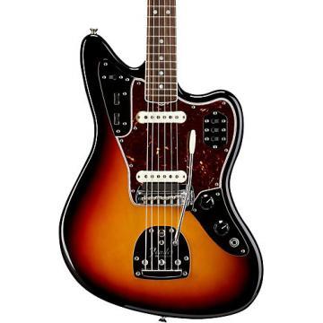 Fender American Vintage '65 Jaguar Electric Guitar 3-Color Sunburst Rosewood Fingerboard