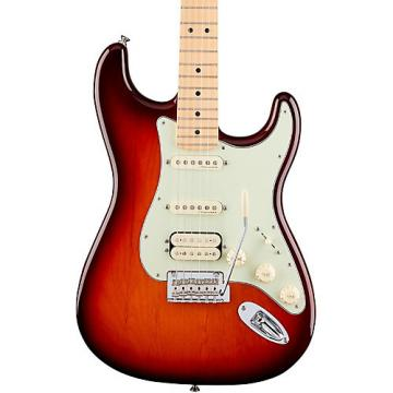 Fender Deluxe HSS Stratocaster with Maple Fingerboard Tobacco Sunburst