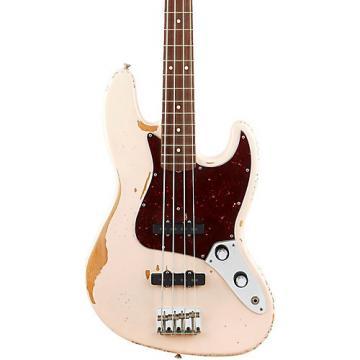 Fender Flea Signature Roadworn Jazz Bass Shell Pink